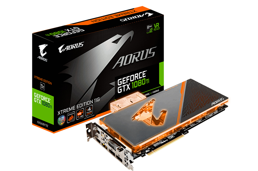 Gigabyte anuncia su Aorus GTX 1080 Ti con bloque de refrigeración líquida, Imagen 1