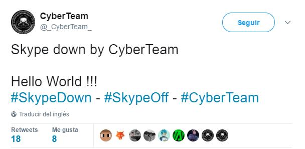 Hackeo masivo a SKype, Imagen 1