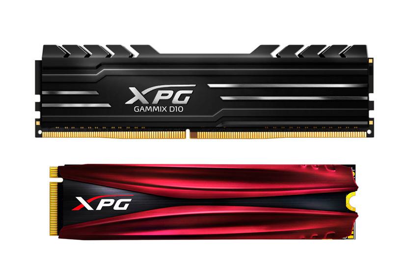 ADATA estrena la gama XPG Gammix con memorias DDR4 y SSD NVMe M.2, Imagen 1
