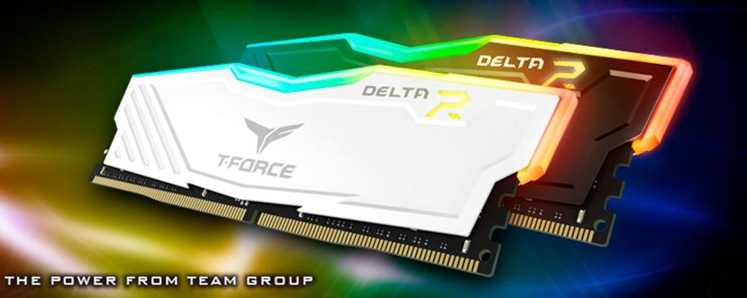 Memorias DDR4  T-FORCE Delta con iluminación RGB, Imagen 1