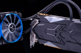 Colorful iGame GTX 1080 Ti Neptune W con doble radiador de refrigeración líquida