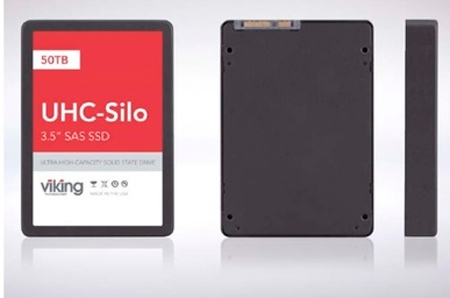Viking anuncia un SSD de 50 TB de capacidad, Imagen 1