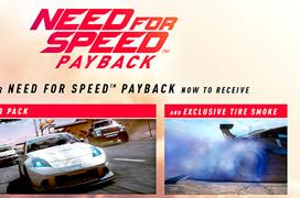 Los que reserven el Need for Speed: Payback tendrán más efectos gráficos