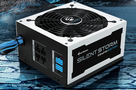 Sharkoon SilentStorm IceWind, fuentes semi-modulares 80 PLUS Bronze
