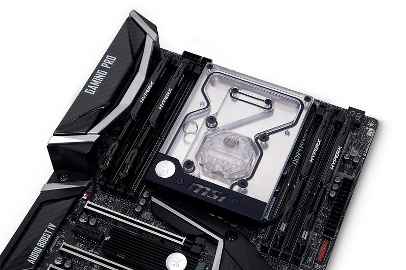 EK lanza un monobloque para las MSI X299 Gaming Pro Carbon, Imagen 1