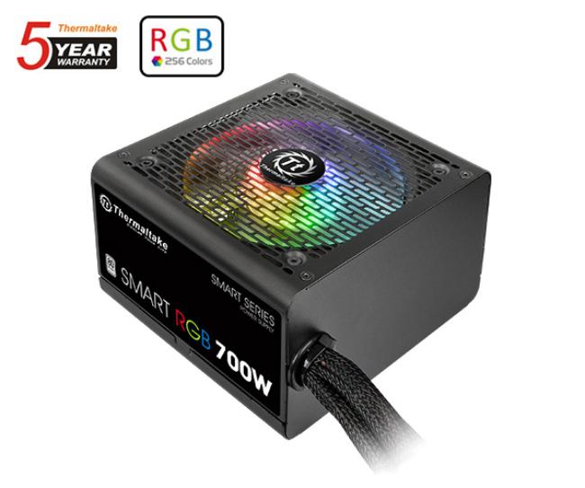 Thermaltake lanza su gama de fuentes Smart RGB, Imagen 1