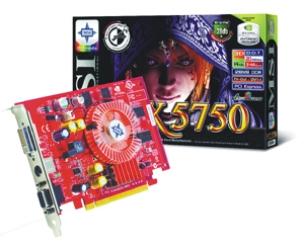 GeForce PCX 5750 sobre una tarjeta de MSI PCI Express, Imagen 1