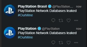 Hackean las redes sociales de PlayStation y avisan de un ataque a las bases de datos de PSN, Imagen 1