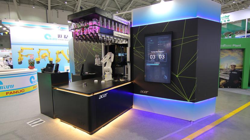 Lo último de ACER es un robot que te preparará y servirá tu cóctel favorito, Imagen 1