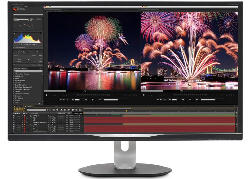 Philips anuncia dos monitores de 31,5 pulgadas para profesionales., Imagen 1