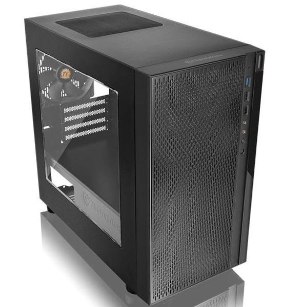 Thermaltake Versa H18, torre micro-ATX con espacio para gráficas de 35cm, Imagen 2