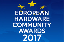 Estos son los ganadores de los European Hardware Community Awards 2017