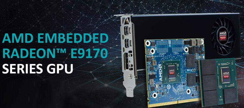AMD Radeon Serie E9170, Polaris llega a sistemas integrados, Imagen 1