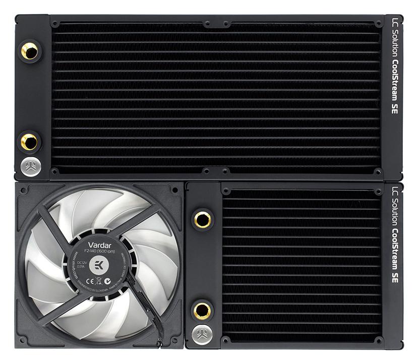 Nuevos radiadores de RL ultrafinos EK CoolStream Slim, Imagen 1