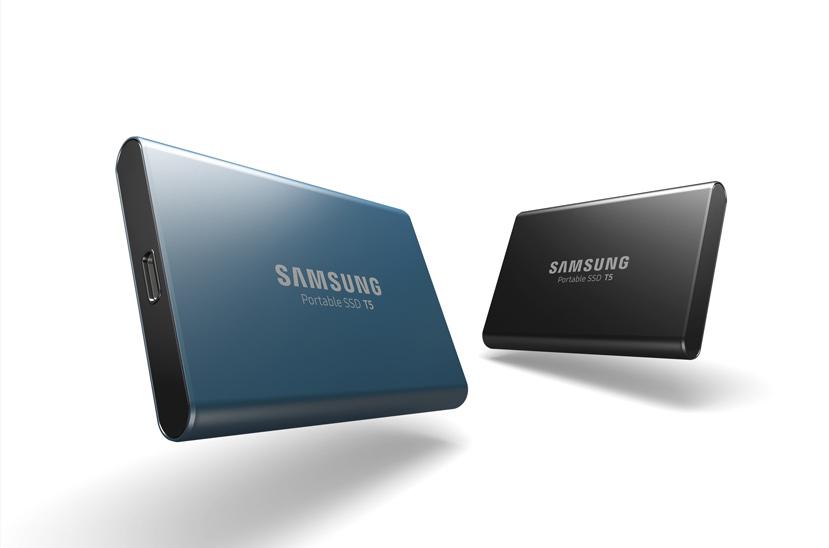 Samsung lanza el SSD externo T5 con USB 3.1 de tipo C, Imagen 1