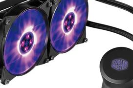 Cooler Master añade iluminación RGB a sus refrigeraciones líquidas MasterLiquid