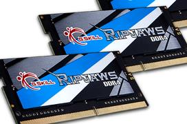 G.Skill anuncia memorias DDR4 a 3.800 en formato SO-DIMM