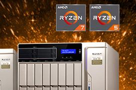 QNAP anuncia el primer NAS con procesadores AMD RYZEN