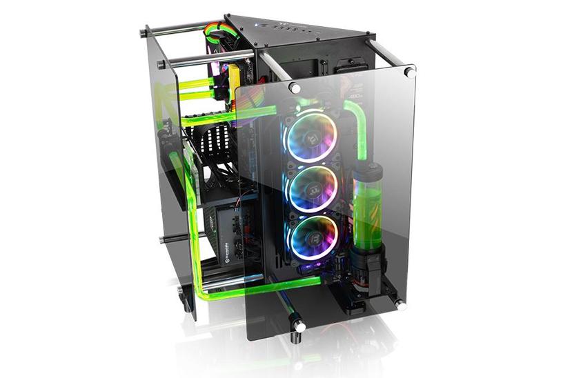 Thermaltake anuncia su torre Core P90 con cristal templado y triple compartimento , Imagen 1