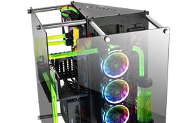 Thermaltake anuncia su torre Core P90 con cristal templado y triple compartimento