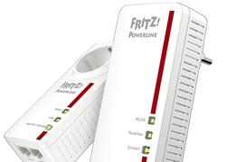 Amplía tu red con el PLC FRITZ! Powerline 1260E con WiFi de alta velocidad