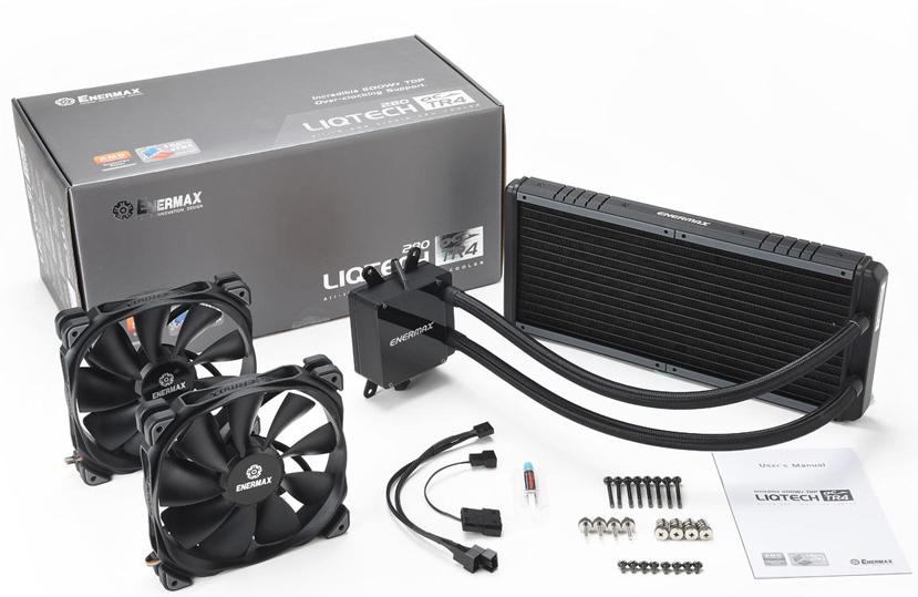 Enermax añade un radiador de 280mm a su refrigeración líquida Liqtech TR4 para Threadripper, Imagen 1
