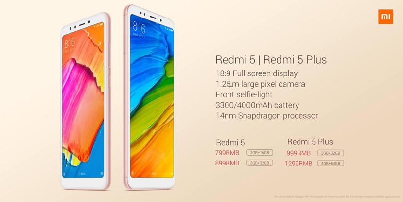Xiaomi se pasa a los 18:9 de pantalla con su Redmi 5, Imagen 1