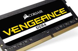 Corsair anuncia el kit de 32 GB DDR4 para portátiles más rápido del mundo