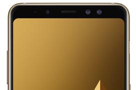 El Samsung Galaxy A8 llega con Infinity Display y doble cámara frontal