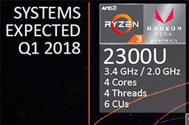 Ryzen 3 llega también a portátiles con gráficos AMD Vega