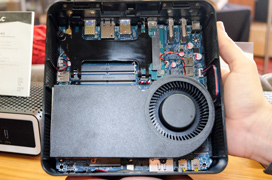 ZOTAC MA551, el primer mini PC con APU AMD Raven Ridge con GPU Vega