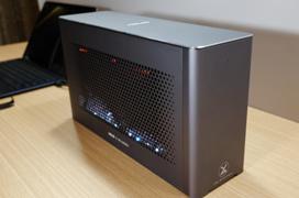 La ASUS XG Station Pro nos permitirá escoger qué grafica queremos convertir en externa