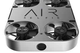 El pequeño drone AirSelfie se renueva con una cámara de 12 Megapíxeles