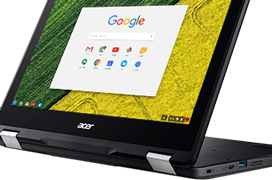 Este Chromebook Spin 11 de Acer se puede usar como portátil o tablet