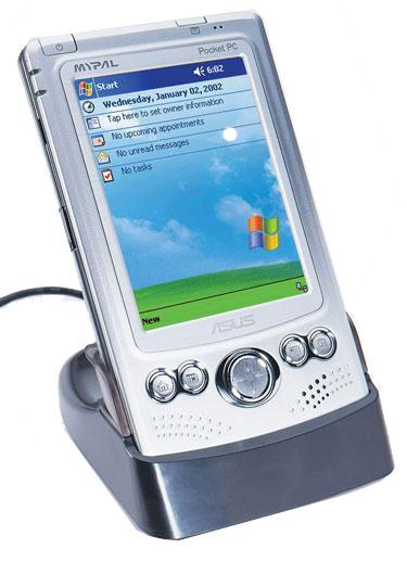 ASUS presenta el Pocket PC más pequeño con ranura  CF y el primer portátil con sintonizadora de TV, Imagen 1
