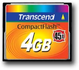 Transcend lleva sus memorias Flash hasta los 4 GB, Imagen 1