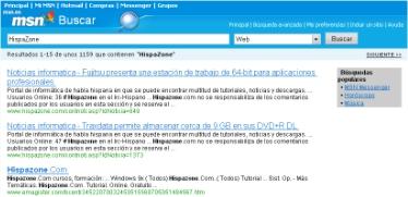 MSN lanza la esperada versión beta de su popular buscador, Imagen 2