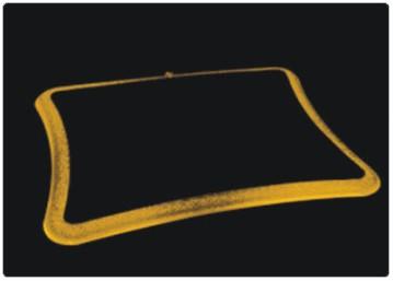 Alterna los siete colores de alfombrilla luminosa de Thermaltake con sus 12 leds, Imagen 1
