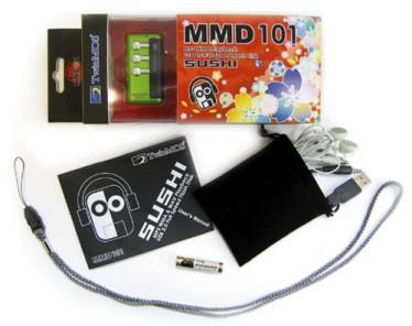 Una porción de sushi que reproduce MP3 y almacena hasta medio gigabyte, Imagen 2