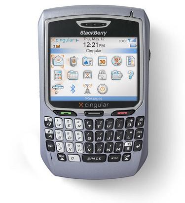 Blackberry 8700c Intel Powered, Imagen 1