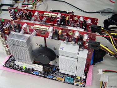 Empiezan a probar el SLI de 4 procesadores, Imagen 1