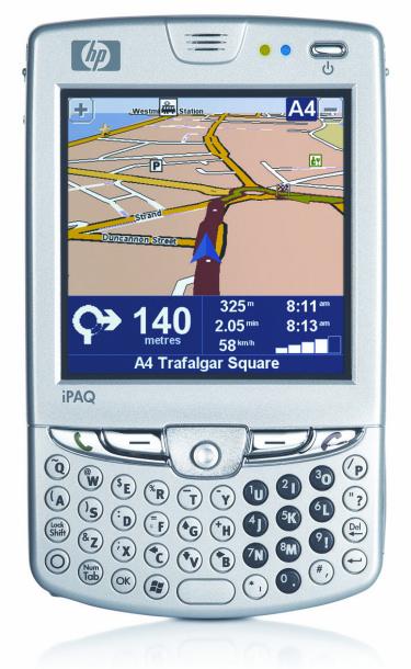 HP tambien presenta nuevo Teléfono, Imagen 1