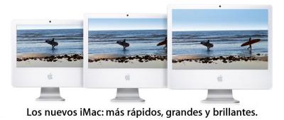 Apple presenta nuevos iMac con Core 2 Duo, Imagen 1