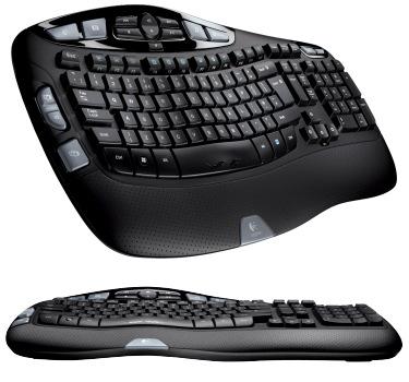 Logitech presenta nuevos teclados con ergonomía en 3D, Imagen 1