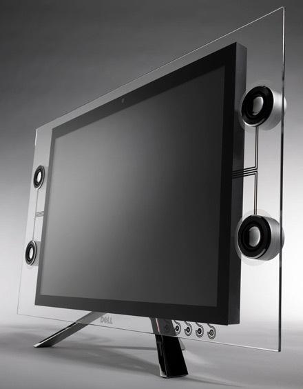 Dell presenta su nuevo monitor de cristal, Imagen 1