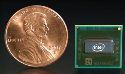 Intel mostró el nuevo Silverthorne, la gran baza del MID, Imagen 1