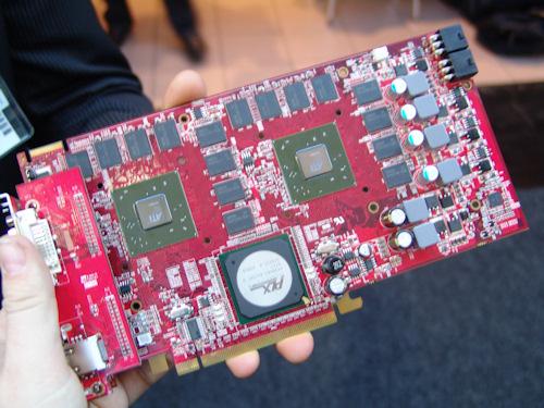 Cebit. Powercolor nos muestra la primera 3870X2 con GDDR4, Imagen 1