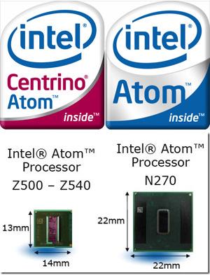 """Intel ha presentado hoy sus primeros cinco procesadores """"Atom"""", Imagen 1"""