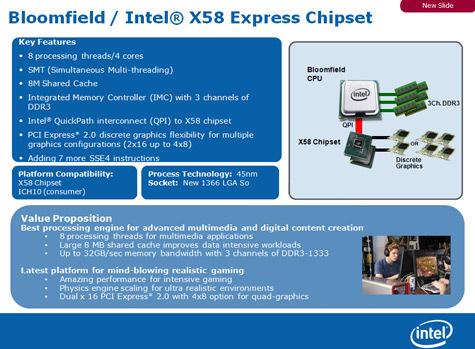 Intel comienza a definir la plataforma Bloomfield, Imagen 1