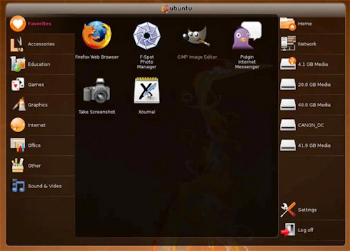 Computex 2008: Canonical introduce Ubuntu para Netbooks, Imagen 1